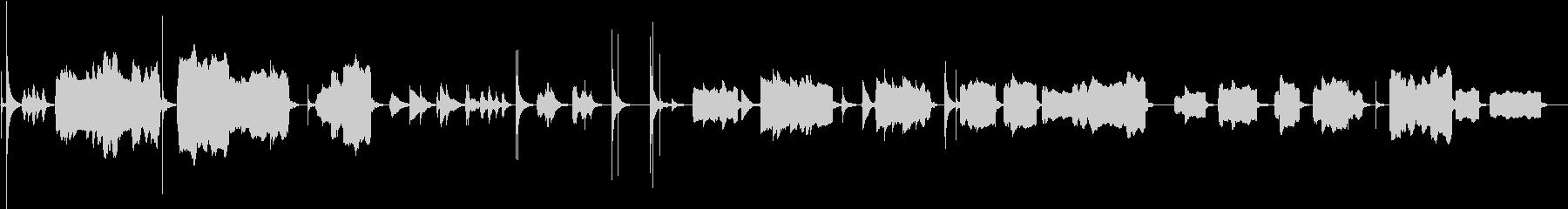【禅】尺八、琴メインの静かな和BGMの未再生の波形