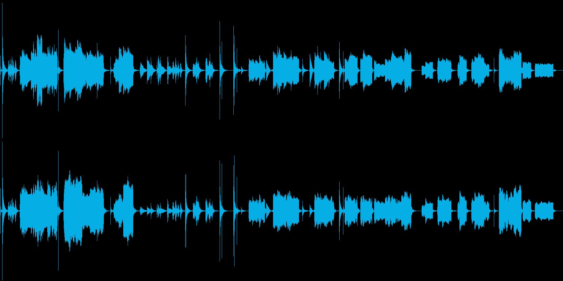 【禅】尺八、琴メインの静かな和BGMの再生済みの波形