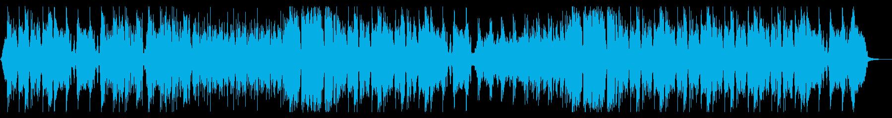 壮大でインパクトのあるトレーラー音楽の再生済みの波形
