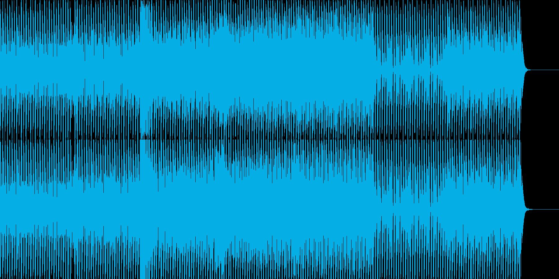 クールでメロディアスなファンキーディスコの再生済みの波形