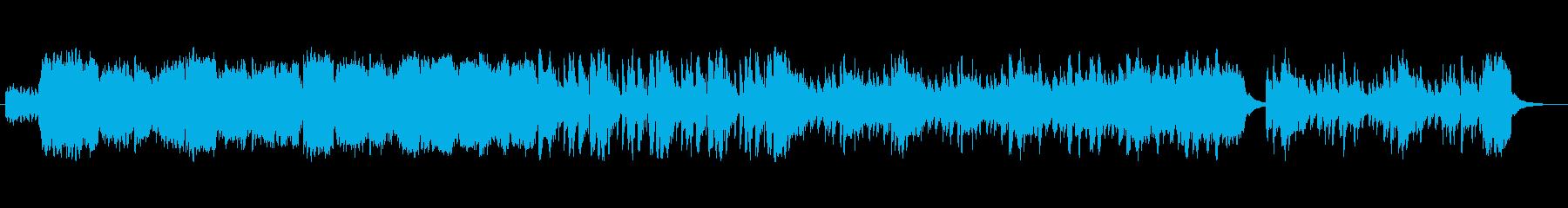 疾走感とハラハラの再生済みの波形
