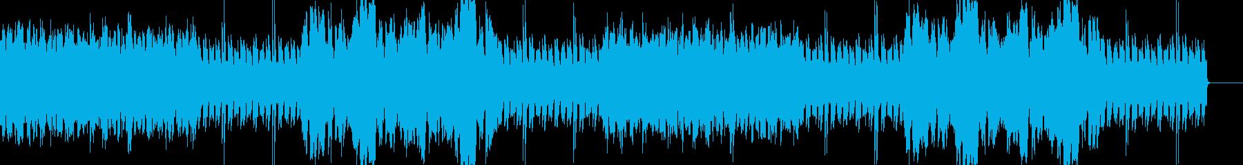 アイリッシュ・ケルト 明るい アコギの再生済みの波形