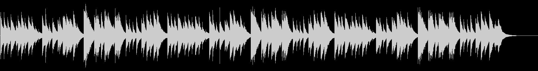 ふるさと 72弁オルゴールの未再生の波形