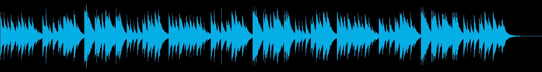 ふるさと 72弁オルゴールの再生済みの波形