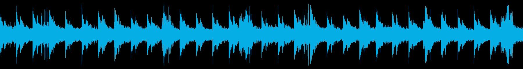 音数が極端に少ないので恐怖感を煽りますの再生済みの波形