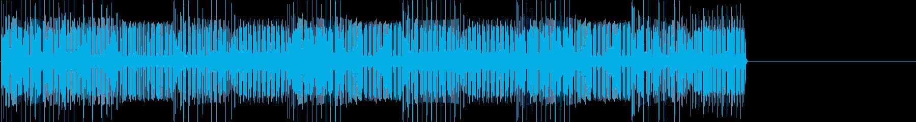レトロゲームなチップチューンジングル30の再生済みの波形