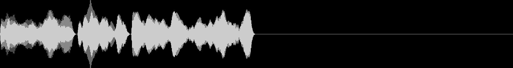 ティララ(ボタン_決定)の未再生の波形