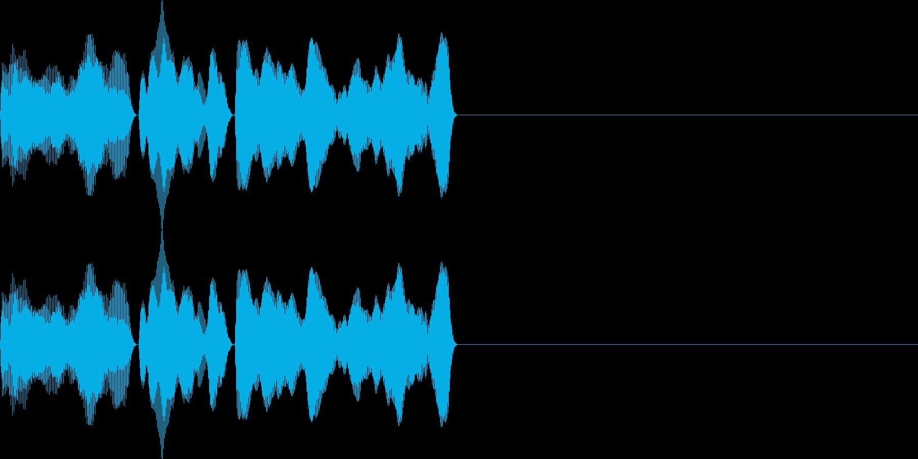 ティララ(ボタン_決定)の再生済みの波形