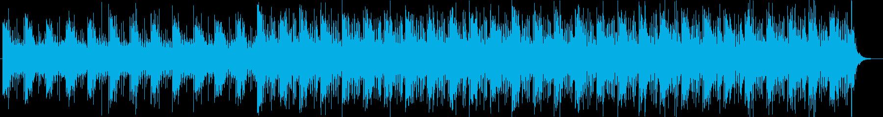 【ニュース系4】シンセ、無機質、坦々bの再生済みの波形