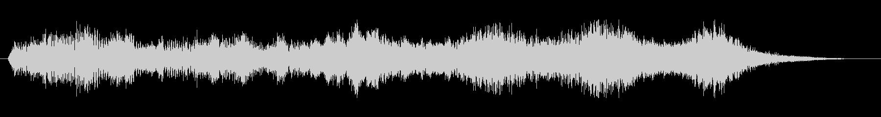 ワープ音2の未再生の波形