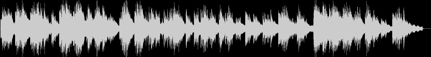 ヒーリングピアノ組曲 まどろみ 8の未再生の波形