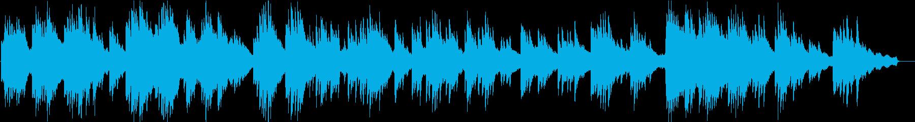ヒーリングピアノ組曲 まどろみ 8の再生済みの波形