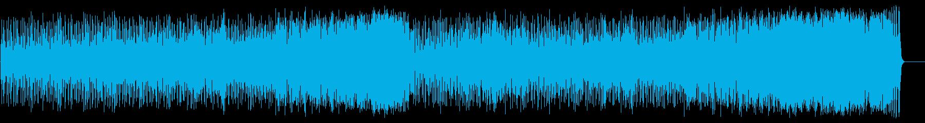 ポップでパワフルなフュージョン/ラテンの再生済みの波形