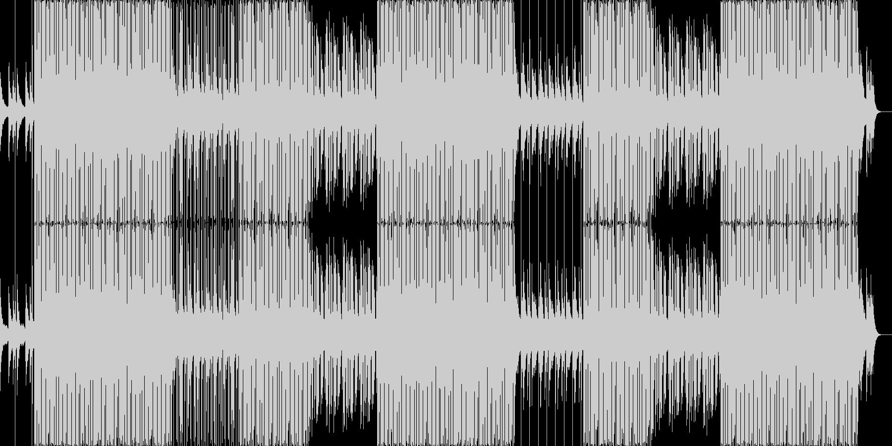 ゆっくりと落ち着いたLofiヒップホップの未再生の波形