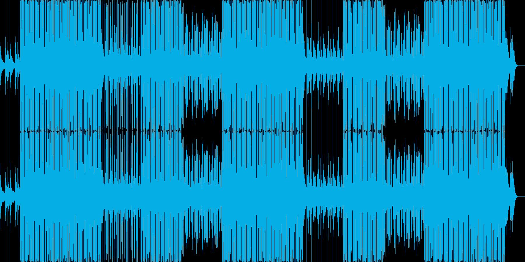 ゆっくりと落ち着いたLofiヒップホップの再生済みの波形