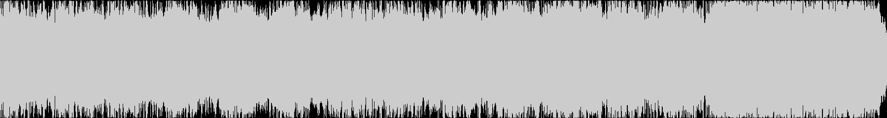 惑星をイメージしたエレクトロなループ音源の未再生の波形