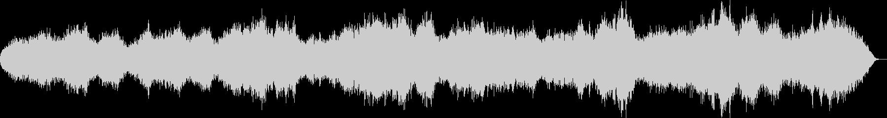 シンセで弾いた落葉のイメージの未再生の波形