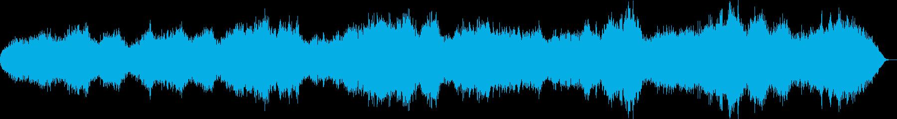 シンセで弾いた落葉のイメージの再生済みの波形