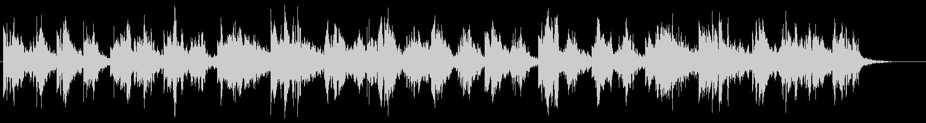 ヒーリング/自然/シンセ/ゆったりBGMの未再生の波形