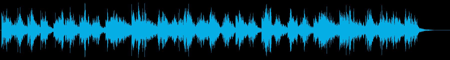 ヒーリング/自然/シンセ/ゆったりBGMの再生済みの波形
