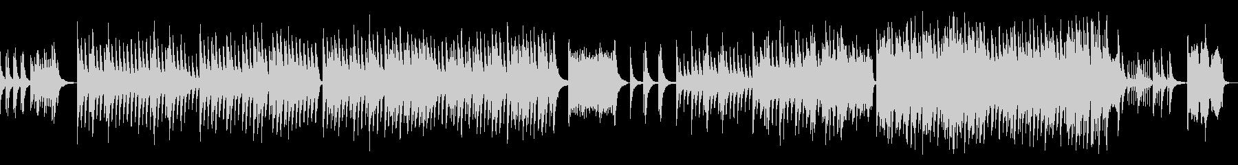 合唱をイメージしたピアノバラードの未再生の波形