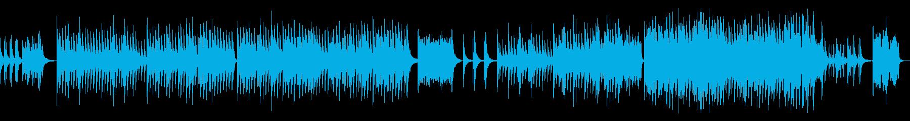 合唱をイメージしたピアノバラードの再生済みの波形