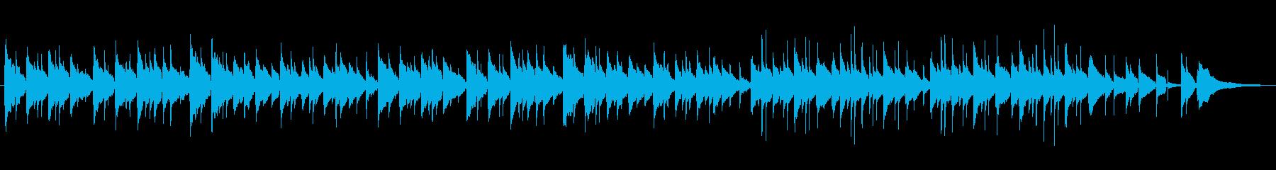 カタロニア民謡の再生済みの波形