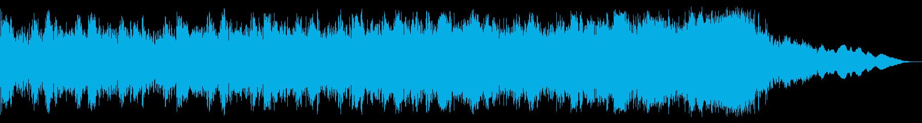 ゴスミュージックベッドの再生済みの波形