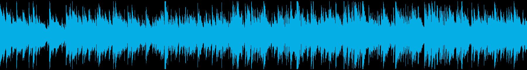 凛々しいサックス、綺麗系ジャズ※ループ版の再生済みの波形