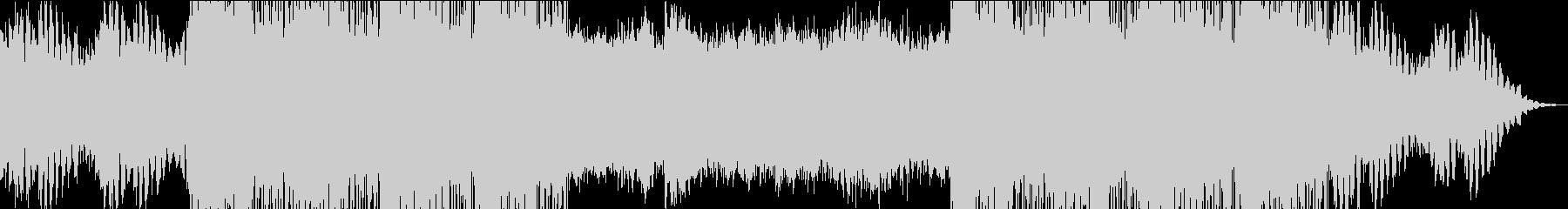 シリアスなクールなハウスBGMの未再生の波形