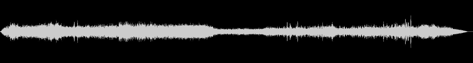 727:INT:着陸、音声、スチュ...の未再生の波形
