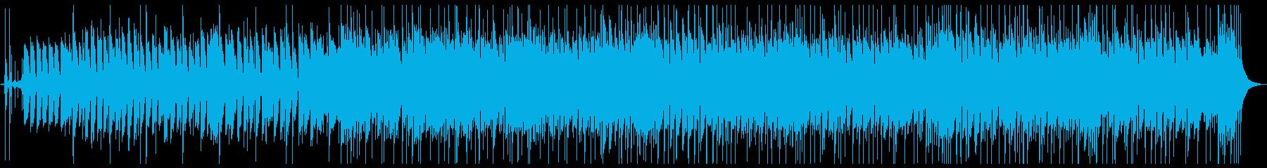 会話の邪魔にならないブルース_ジャズの再生済みの波形
