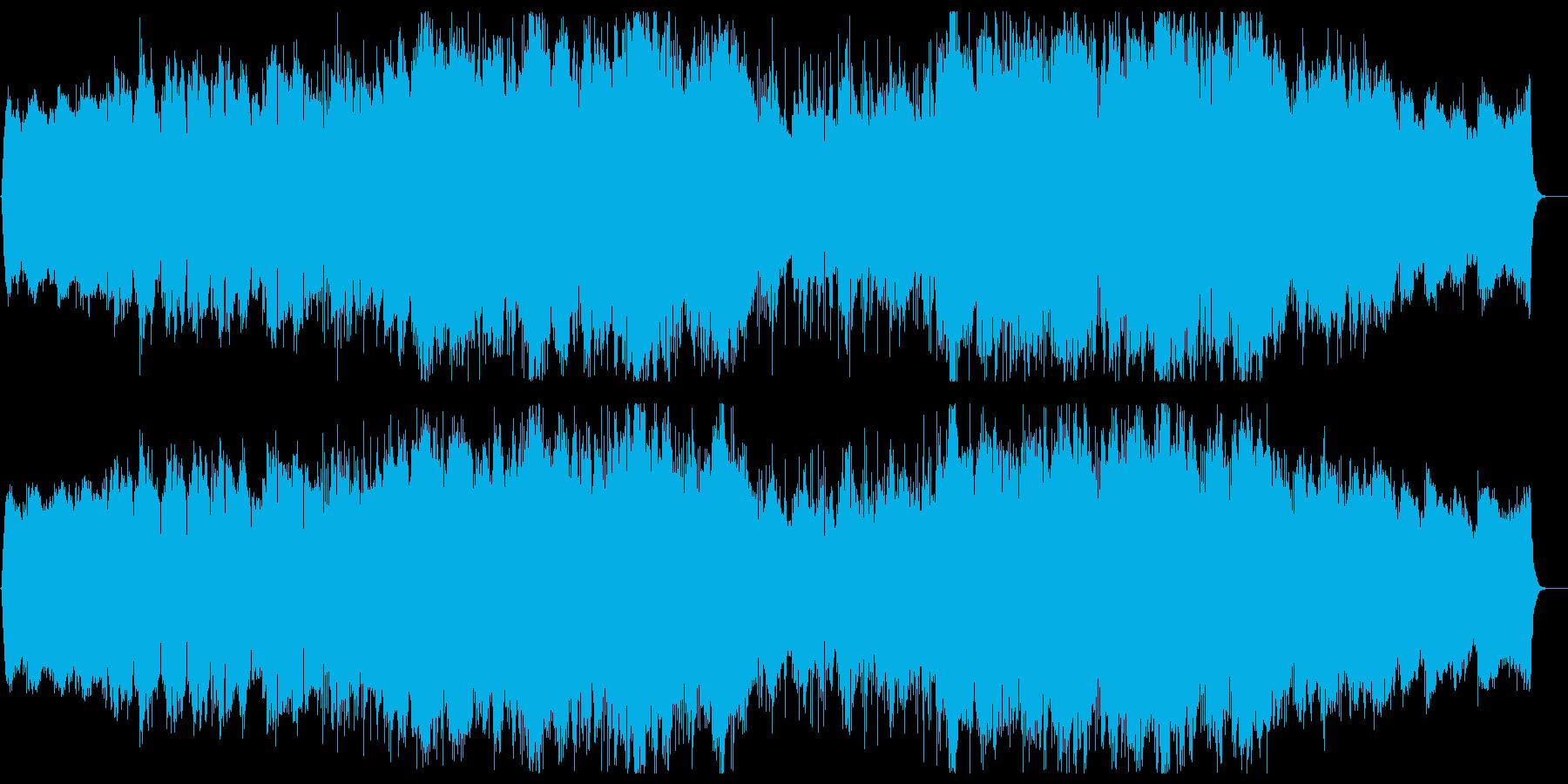 幻想的で美しいチルアウト Vo有の再生済みの波形