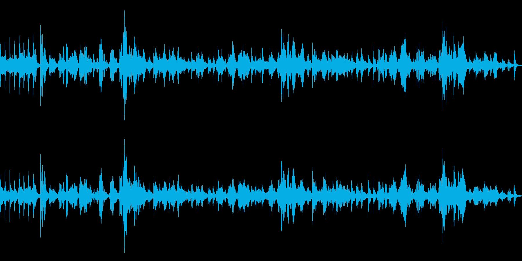 ピアノとボーカルのシンプルなバラードの再生済みの波形
