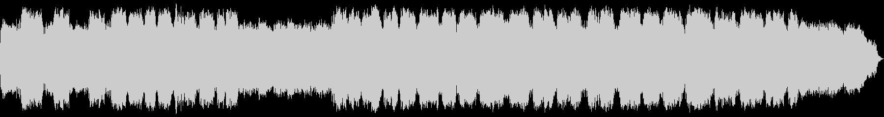 落ち着く笛の音色のヒーリングミュージックの未再生の波形