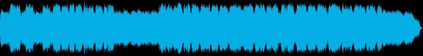 落ち着く笛の音色のヒーリングミュージックの再生済みの波形