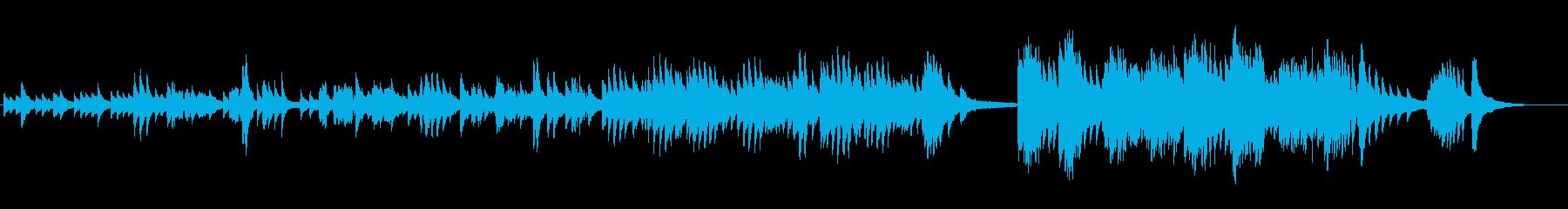 マリの回想の再生済みの波形