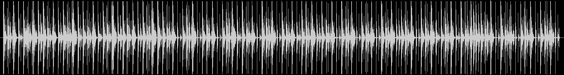 ほのぼのとしてコミカルなBGMの未再生の波形