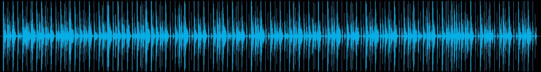ほのぼのとしてコミカルなBGMの再生済みの波形