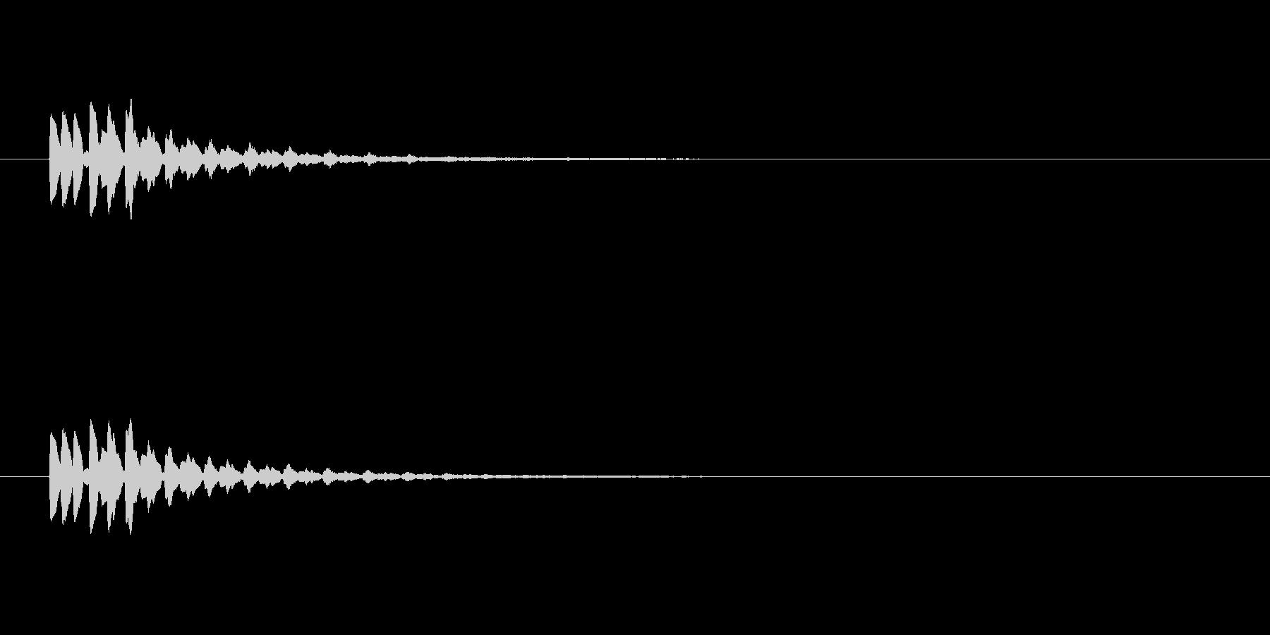 【ショートブリッジ17-3】の未再生の波形