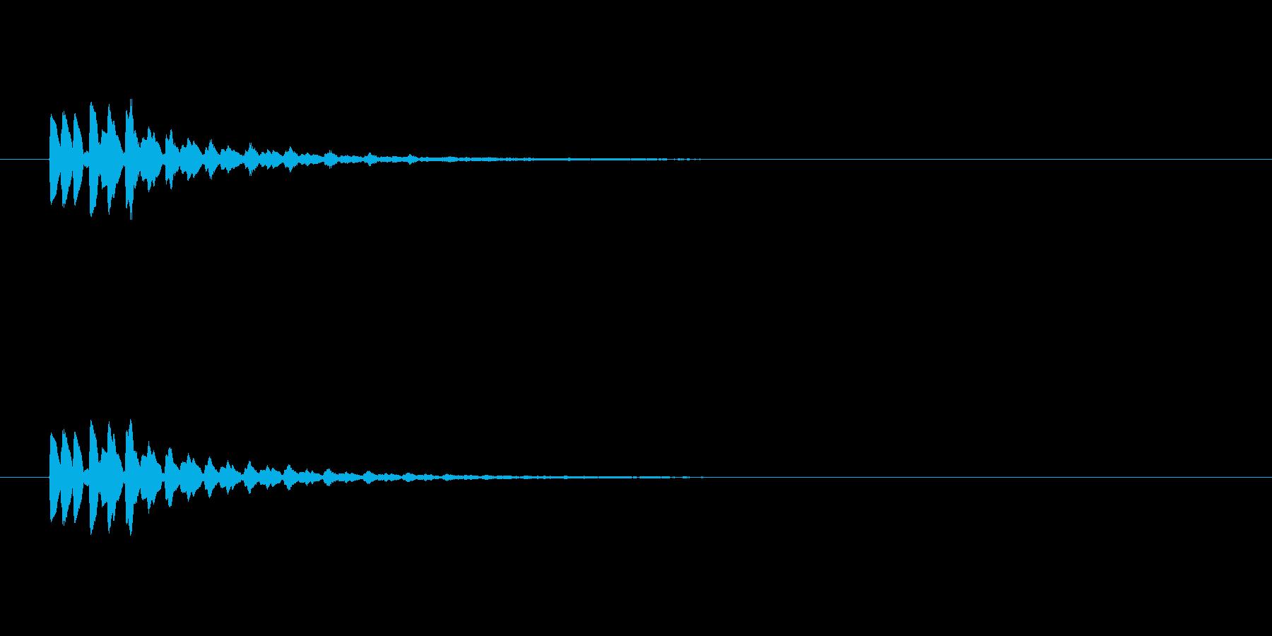 【ショートブリッジ17-3】の再生済みの波形