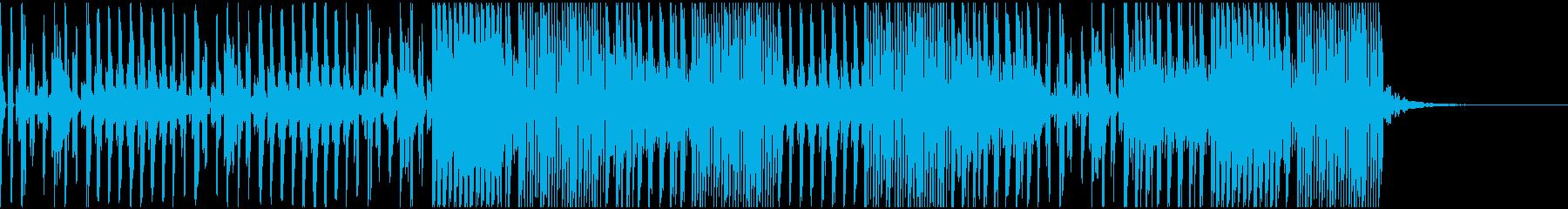 ポップで切ない感じのテクノサウンドの再生済みの波形