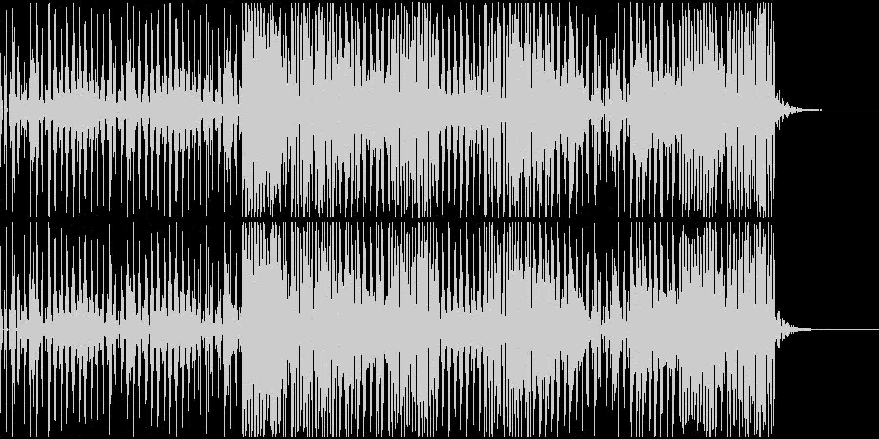 ポップで切ない感じのテクノサウンドの未再生の波形