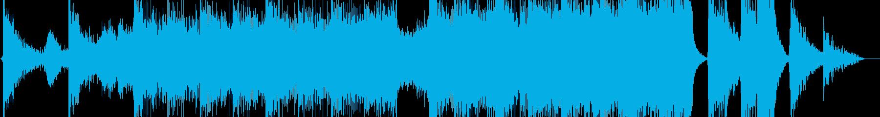 ハリウッドトレーラーイントロの再生済みの波形