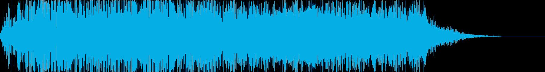 怪物・モンスターの鳴き声・ゲーム・映画の再生済みの波形