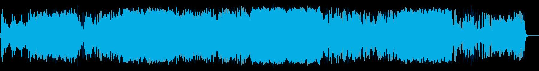 叙情的なアンビエント・バラードの再生済みの波形