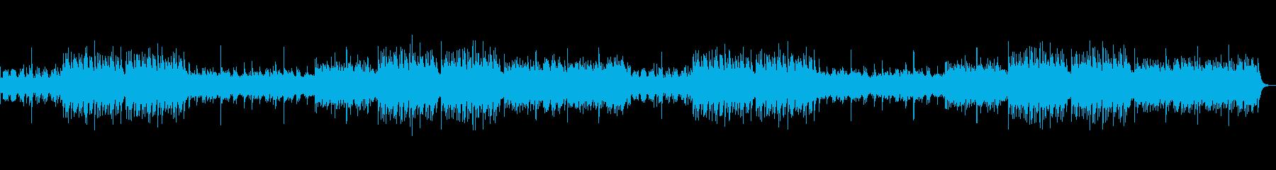 ゆったりとした琴 和食屋に合う曲の再生済みの波形