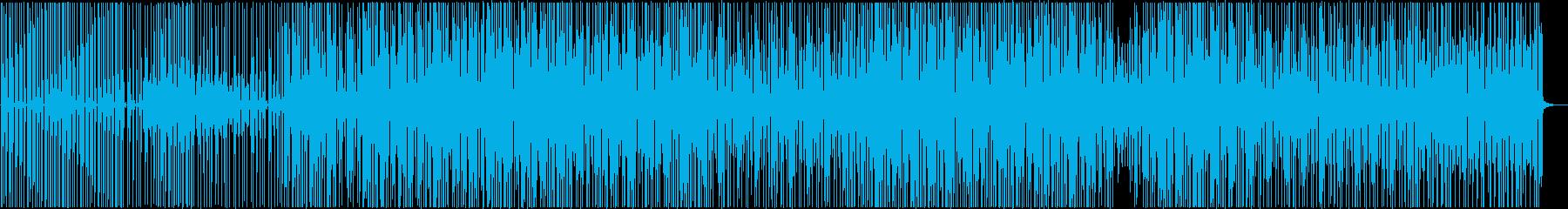 明るめ_レゲェなビート_ほのぼの_ダブの再生済みの波形