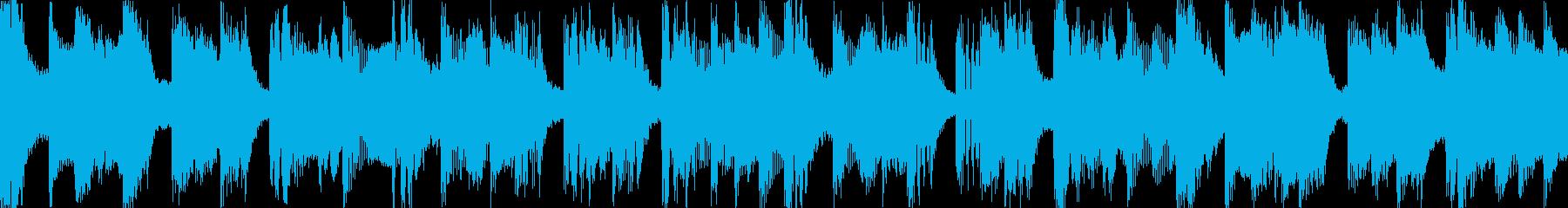 ポップでキャッチーなループの再生済みの波形