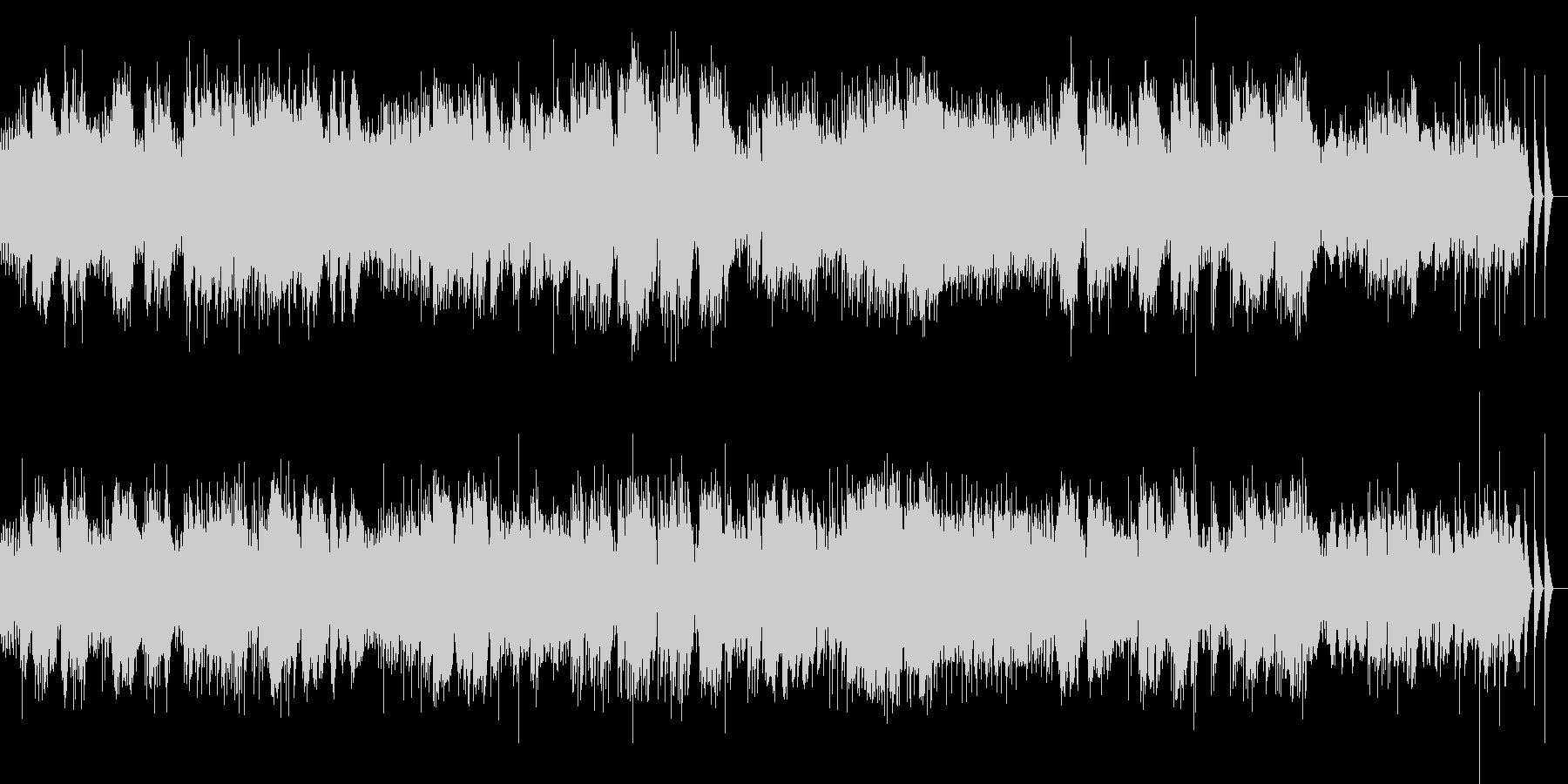 ベルガマスク組曲 パスピエ オルゴールの未再生の波形